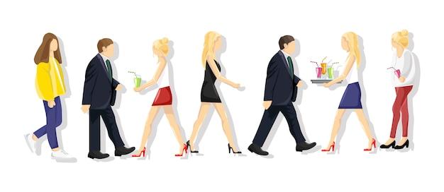 Collezione di lifestyle per persone