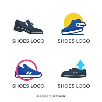 Collezione di loghi scarpe da corsa