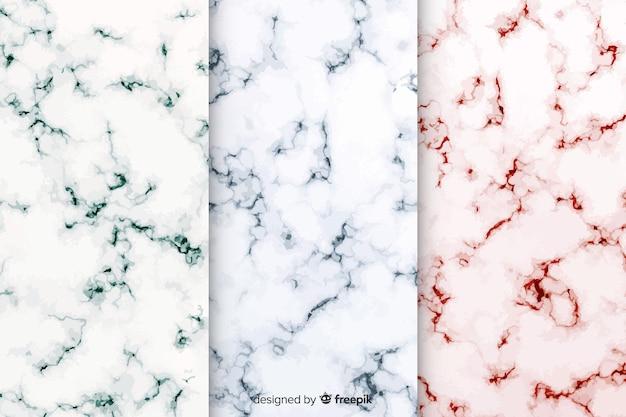 Collezione di marmo di sfondo