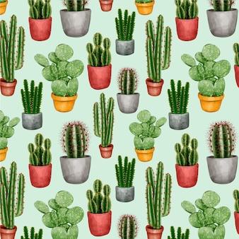 Collezione di modelli di cactus