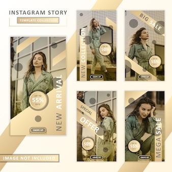 Collezione di modelli di storie instagram
