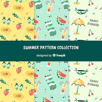 Collezione di modelli estivi