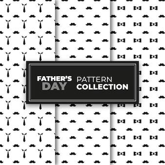 Collezione di modelli festa del papà