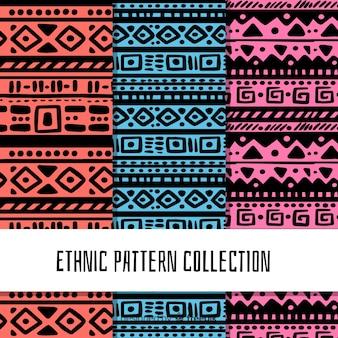 Collezione di motivi etnici