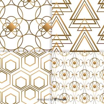 Collezione di motivi geometrici di lusso