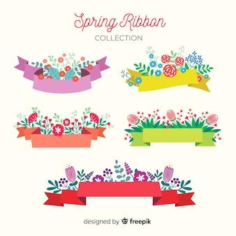Collezione di nastri di primavera
