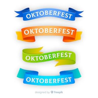 Collezione di nastri oktoberfest