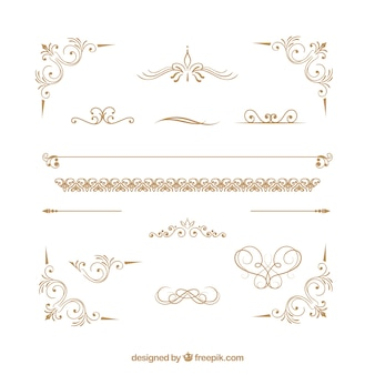 Collezione di ornamenti certificati