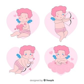 Collezione di personaggi Cupido