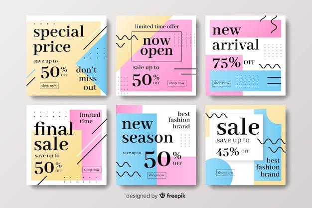 Collezione di post instagram prezzo speciale