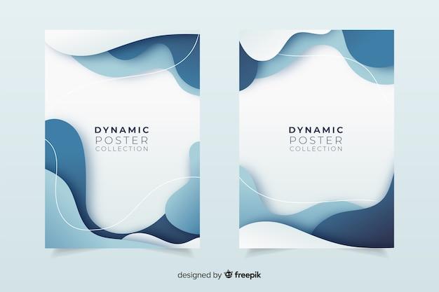Collezione di poster dinamici
