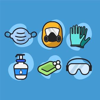 Collezione di protezione delle apparecchiature antivirus
