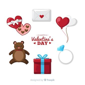 Collezione di regali di san valentino