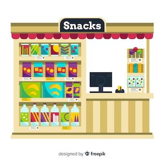 Collezione di snack