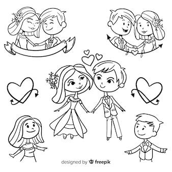 Collezione di sposi