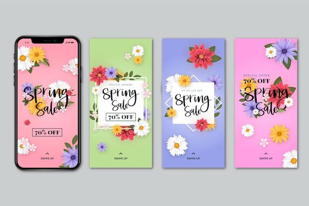 Collezione di storia instagram vendita primavera