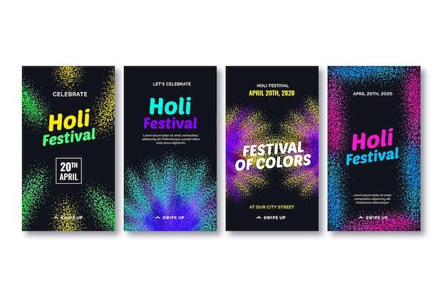 Collezione di storie hagram festival instagram