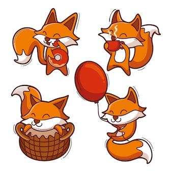 Collezione di volpe