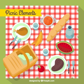 Collezione elemento picnic