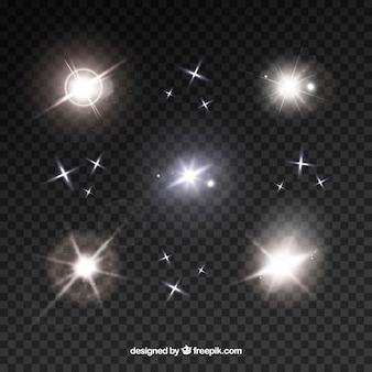 Collezione flare lente bianca