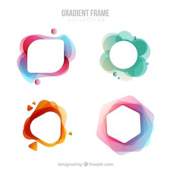 Collezione frame sfumato