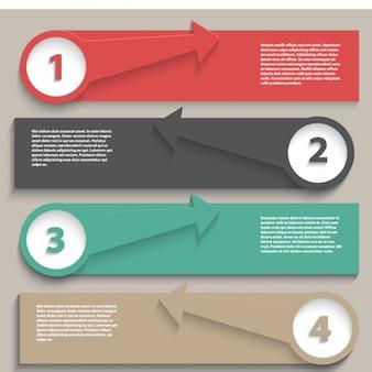 Collezione infografica template