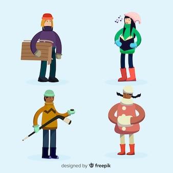 Collezione invernale per bambini hobby