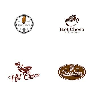 Collezione logo chocolate