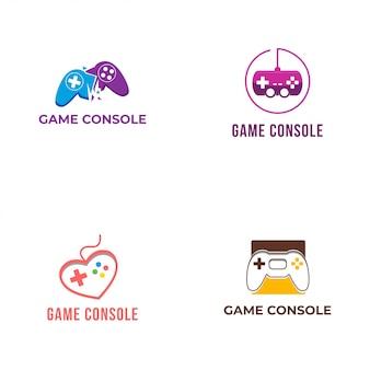 Collezione logo console di gioco