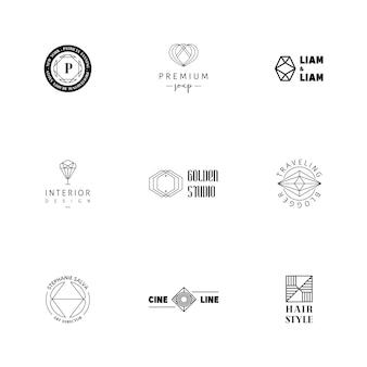 Collezione logo di lusso