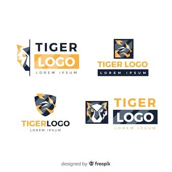 Collezione logo tiger