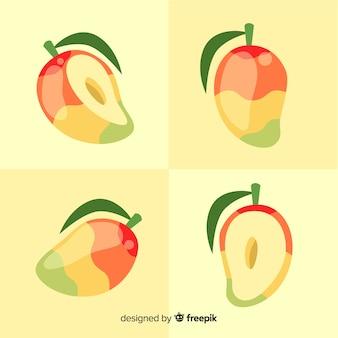 Collezione mango disegnata a mano