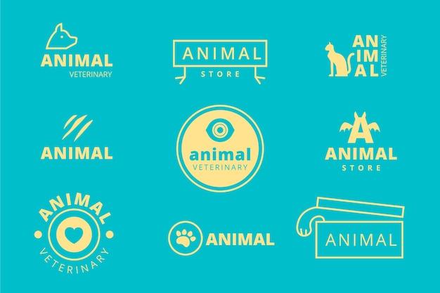 Collezione minimal logo bicolore