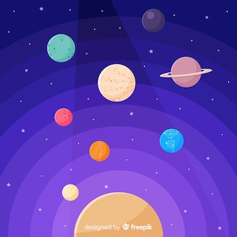 Collezione planet design piatto