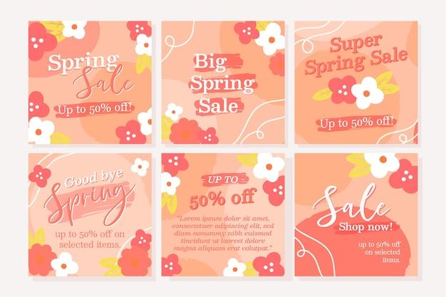 Collezione post vendita instagram primavera
