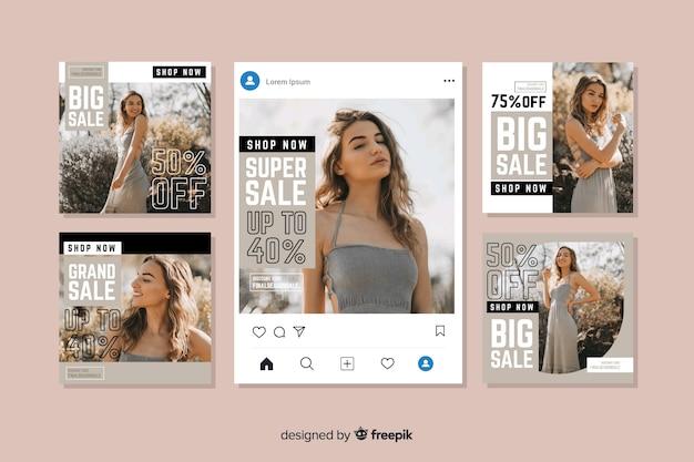 Collezione post vendita instagram