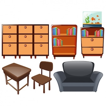 Collezione progetti di mobili