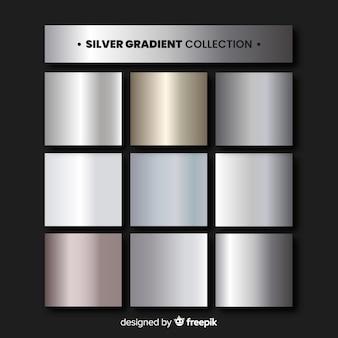 Collezione sfumata argento