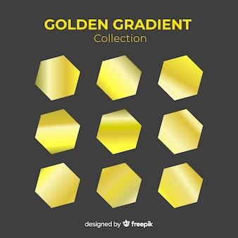 Collezione sfumata dorata