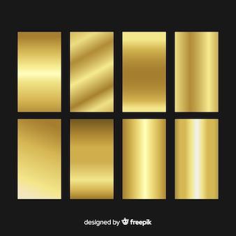 Collezione sfumata oro