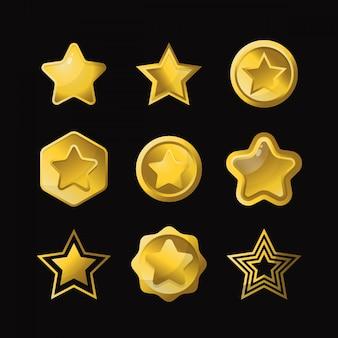 Collezione stella per gioco