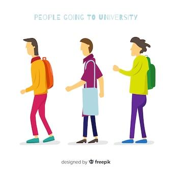 Collezione studentesca universitaria