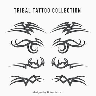 Collezione tribale tatuaggio