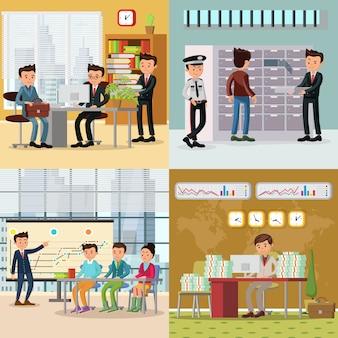 Colorato concetto di business