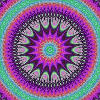 Colorato disegno di sfondo frattale