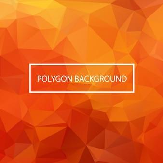 Colorato disegno di sfondo poligonale