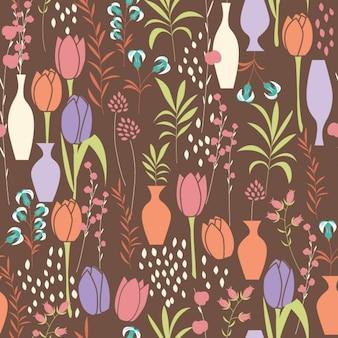 Colorato tulipani modello