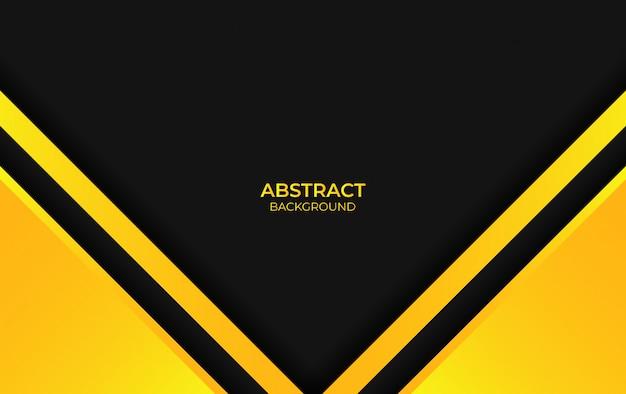 Colore astratto sfondo giallo e nero
