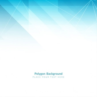 Colore azzurro design moderno sfondo poligonale