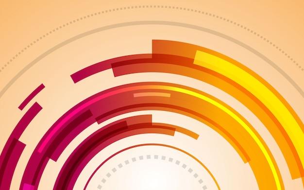 Colore grafico moderno di pendenze del fondo astratto